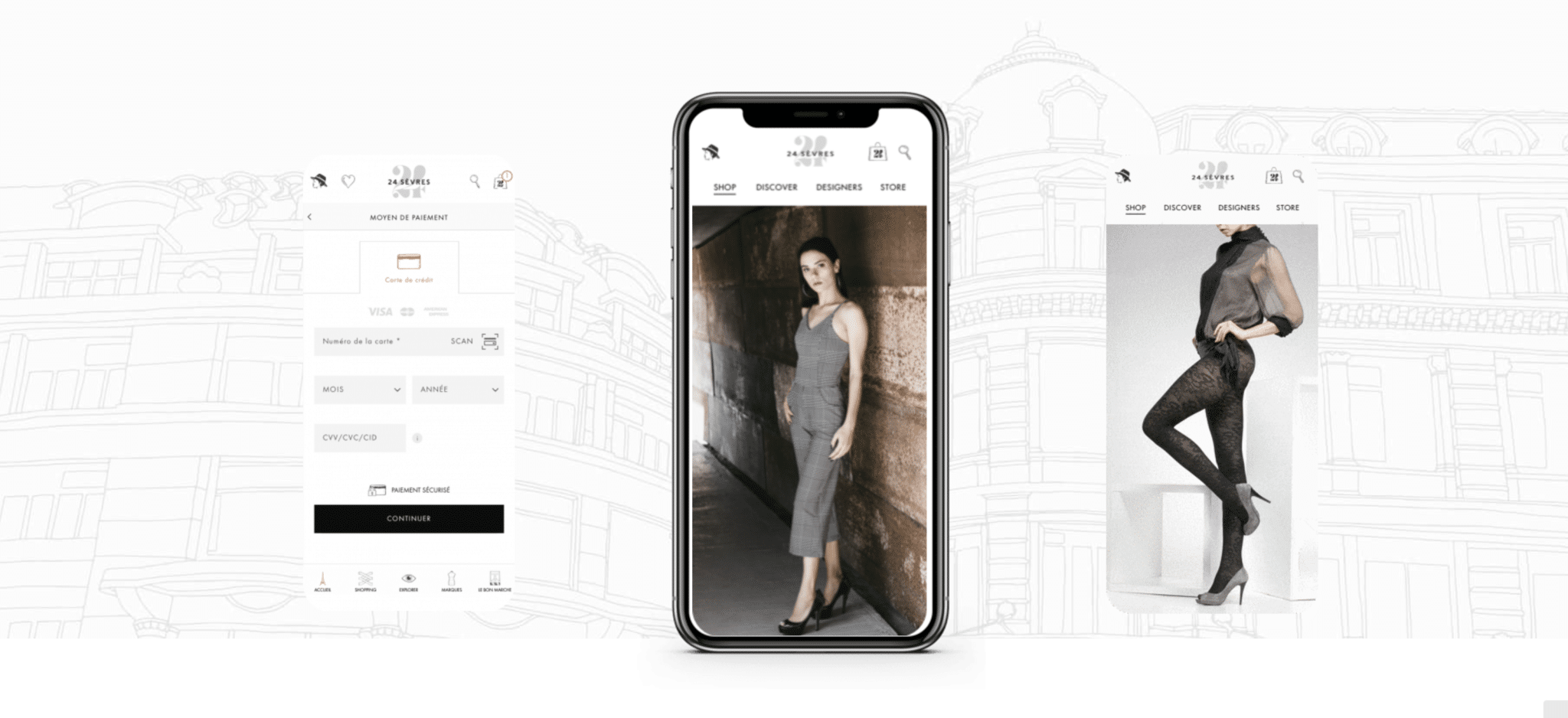 Application mobile 24S